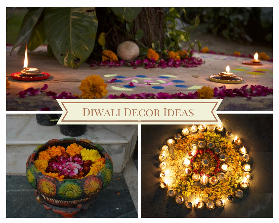 Diwali decor ideas the red notebook blog asian fashion for Decorations for diwali at home
