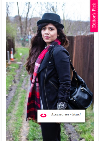 mandavi kaushik the red notebook indian fashion blogger london