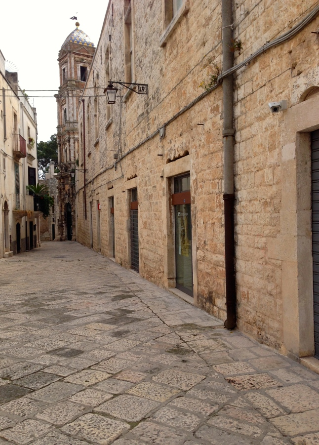 Walking around Conversano