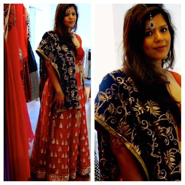 Asian Bridal shops in London The Red Notebook Indian Fashion blog Review